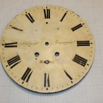 Реставрация циферблата настенных часов