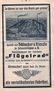 История компании Kienzle