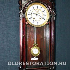 Антикварные английские настенные часы
