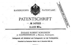Патент DRP 47023