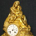 """Каминные часы """"Богоматерь с младенцем"""""""