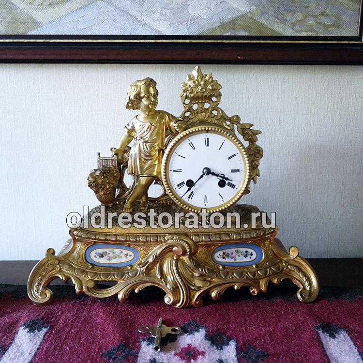 ab5a1a5a Каминные часы Gay Vicarino. Продажа антикварных часов.