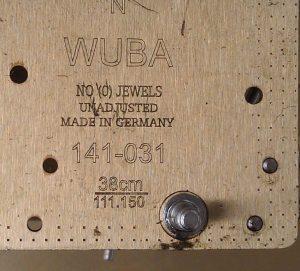 часовой марки Warmink Wuba