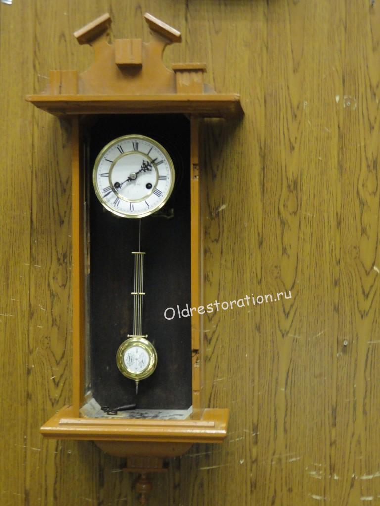 Настенные часы старинные своими руками 41