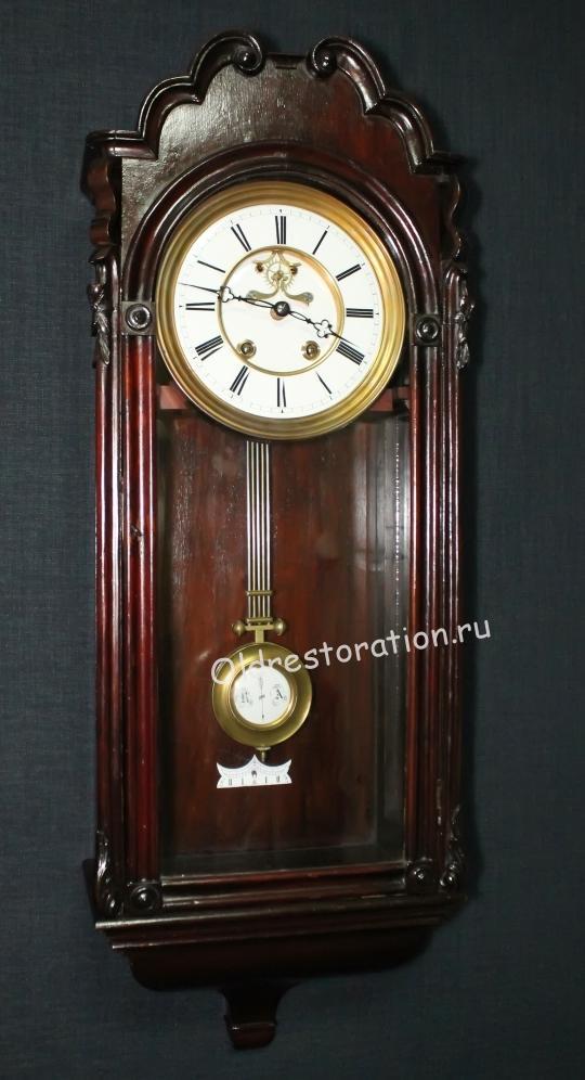 Реставрация старинных часов настенных 55